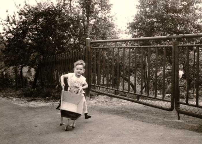 Hartmut Ziebs Kindheit