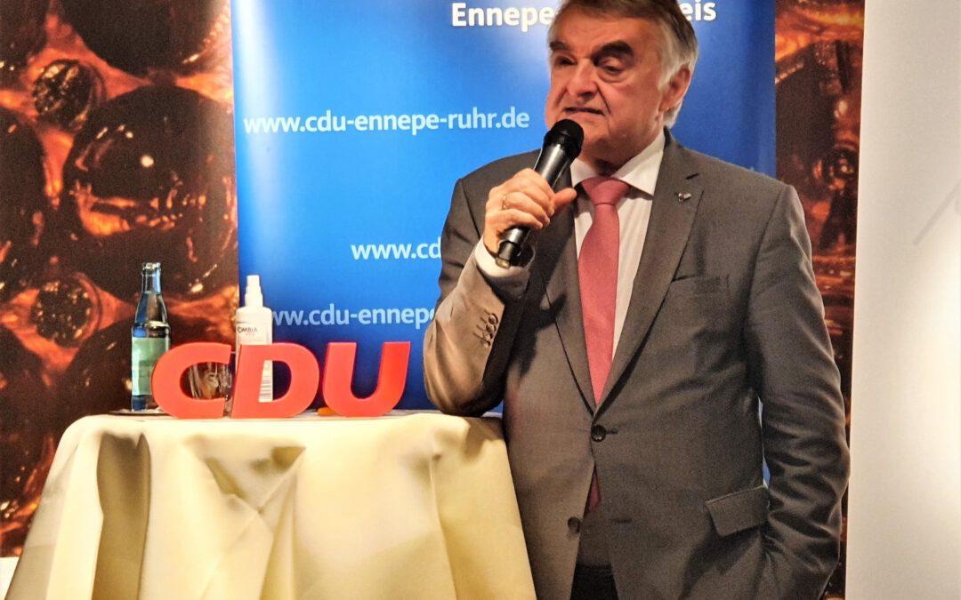 CDU-Bundestagskandidat trifft NRW-Innenminister